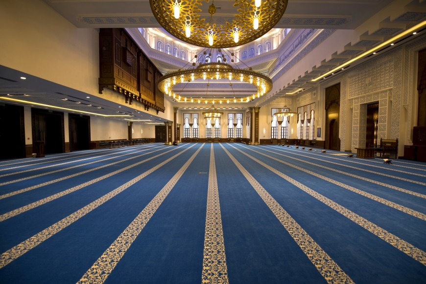 Al Kareem Mosque in Al Marina