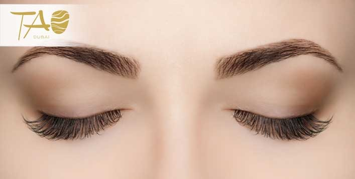 fuller lashes with lash extensions