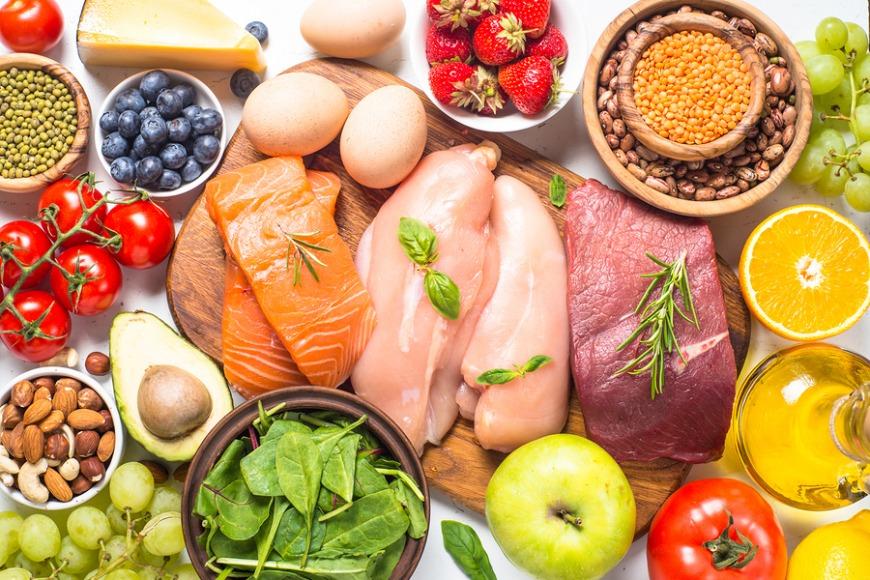 Eat a healthy balanced diet