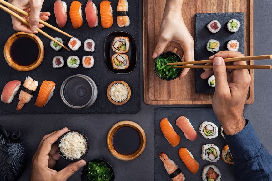 The Expat Guide; A Shift in Food Habits