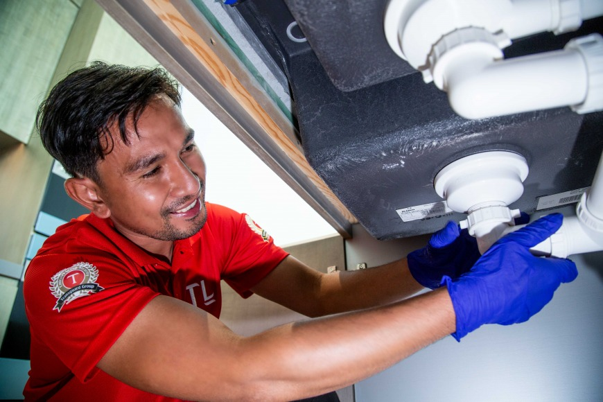 Fix blocked or clogged drains in Dubai with Transguard Living