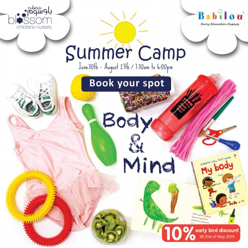Dubai Summer Camp 2019 at Blossom Nursery