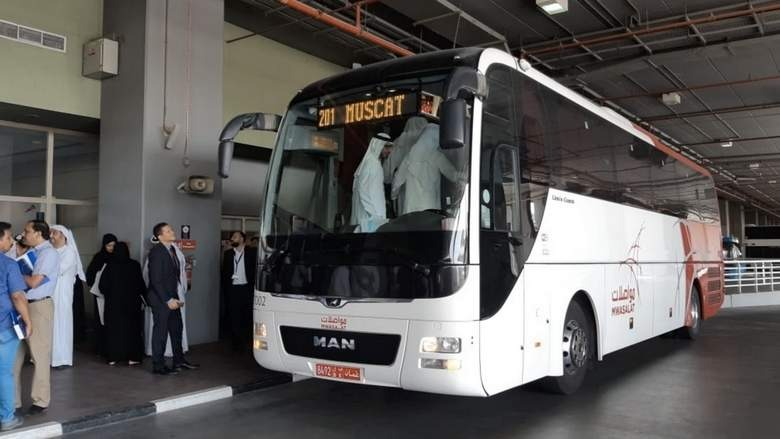Bus from Dubai to Muscat