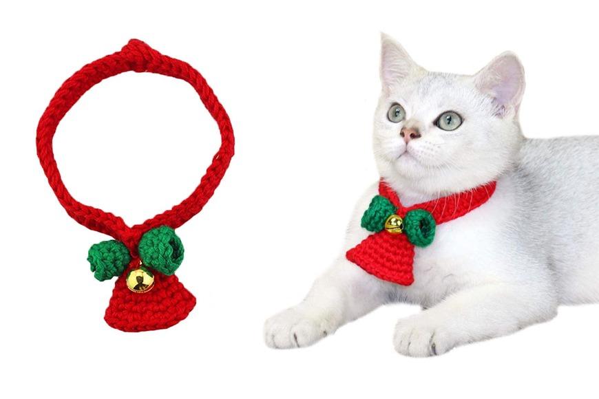 Christmas cat jingle bell collar