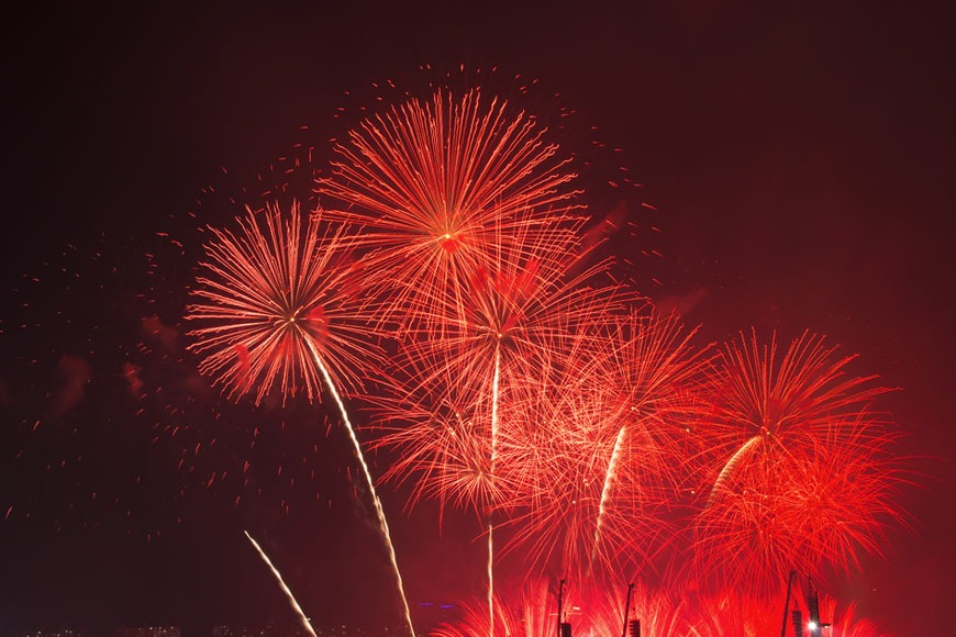 Where to see the Chinese New Year fireworks in Dubai