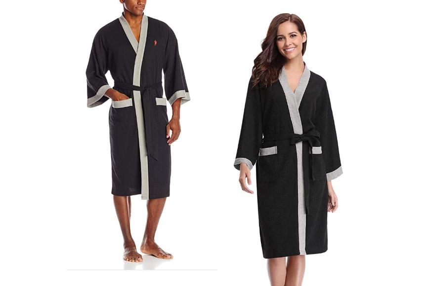 Unisex kimono robe