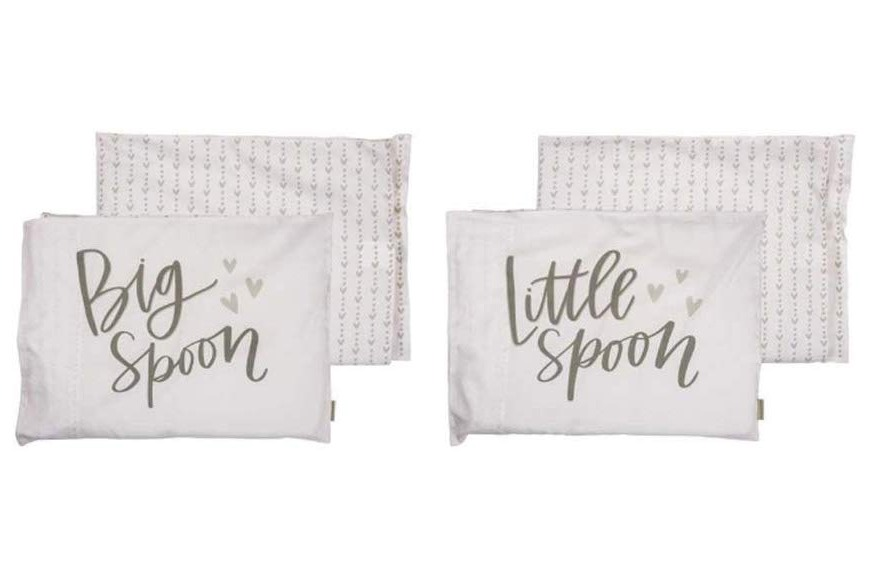 Big Spoon Little Spoon Pillowcase Set