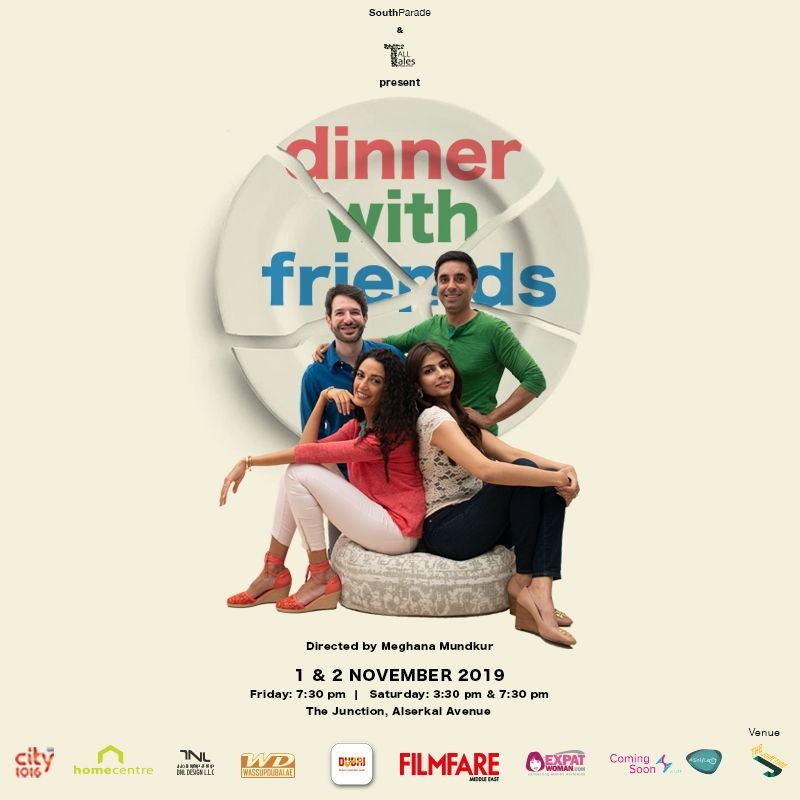 Don't Miss 'Dinner With Friends' Heading to Dubai This Autumn
