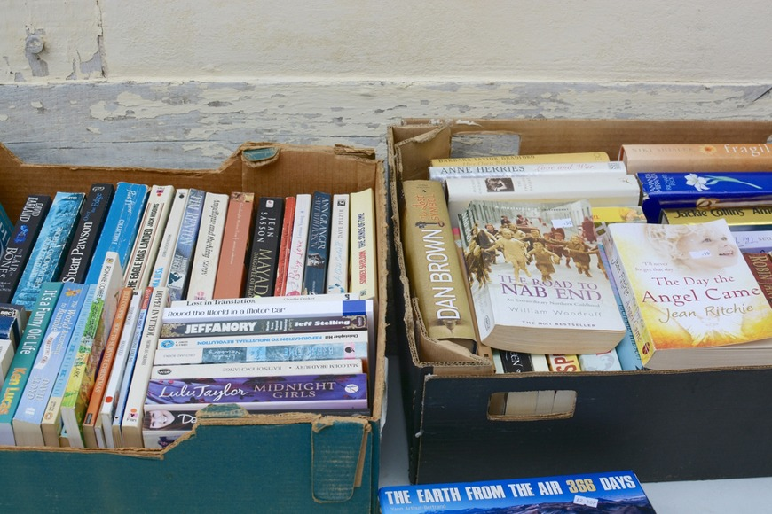 Where to donate books in the UAE