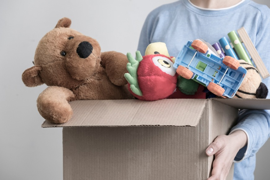 How to donate old toys in the UAE