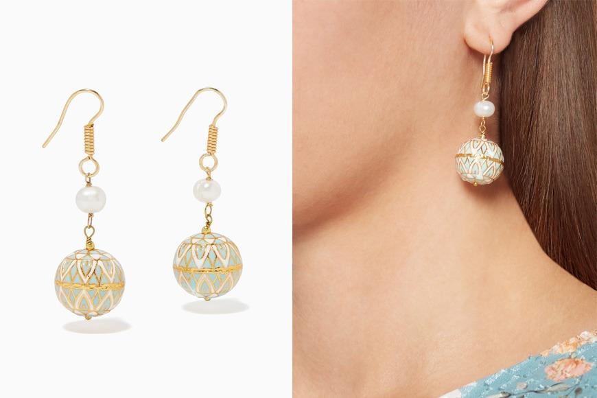 The Jewels Jar earrings on Ounass