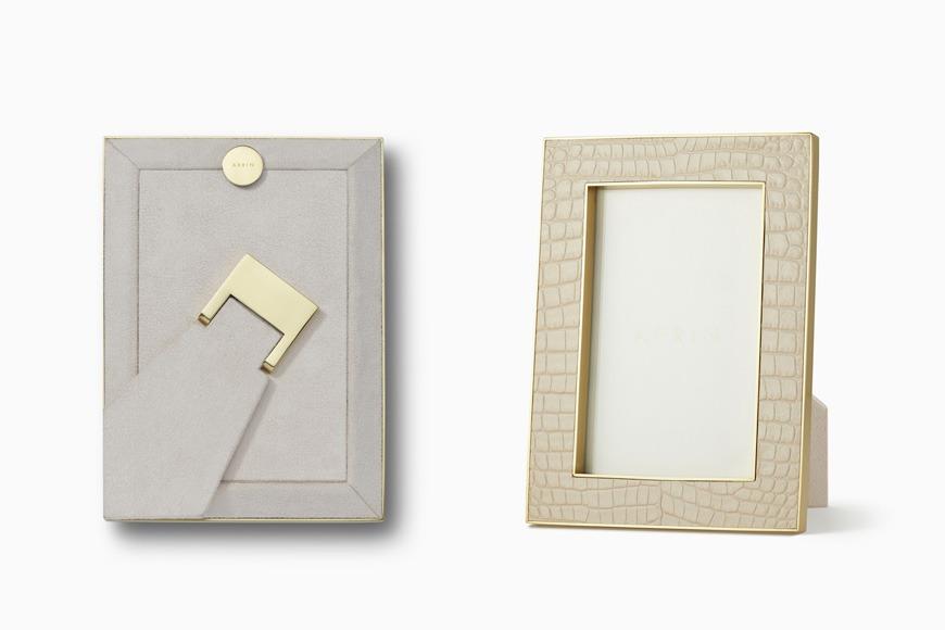 Leather frame on Ounass
