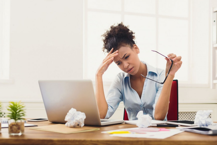 Half a million people suffer from work-related stress