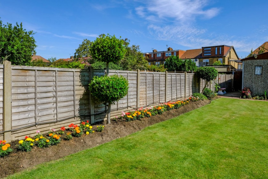 Lower fences can help deter intruders