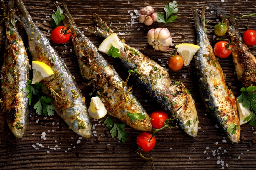 Oily fish is your recovery friend