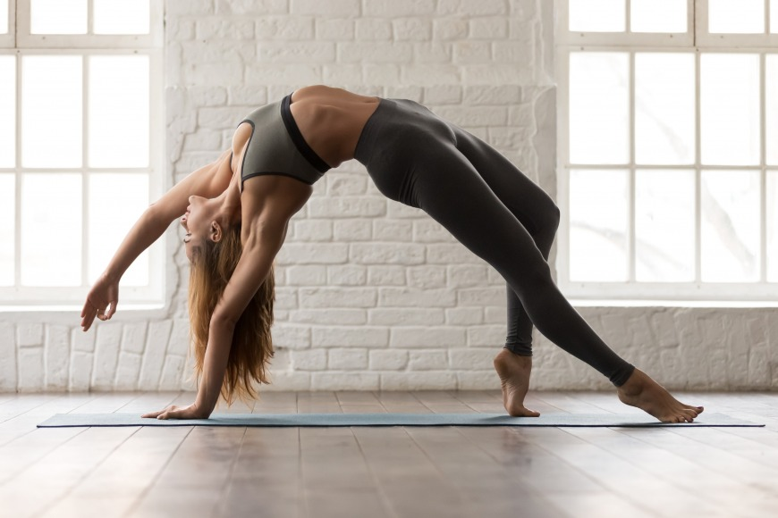 Yoga is a popular form of active recovery