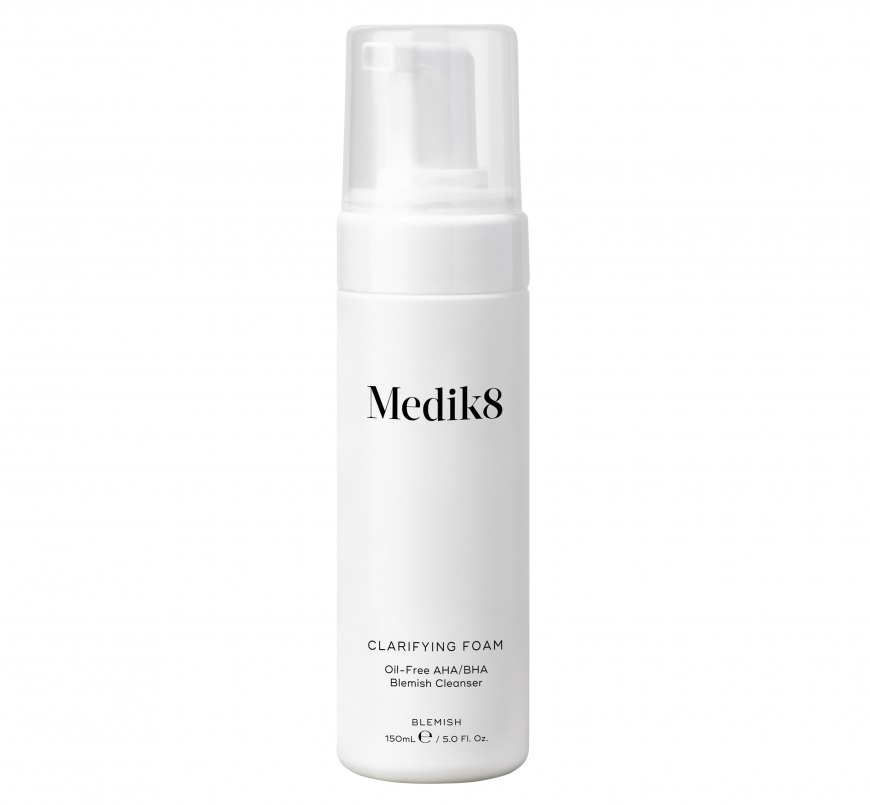 Medik8 Clarifying Foam, £17.85/AED81.99, Beauty Flash