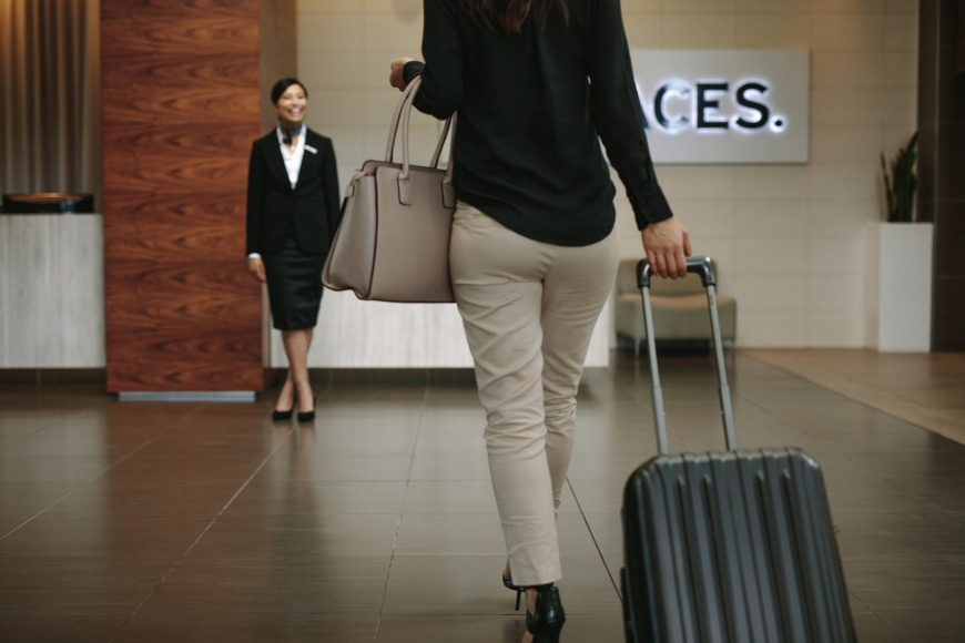 Check into an airport hotel