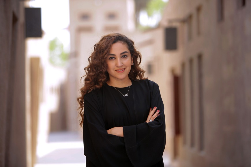 Ahlam Bolooki, the festival director