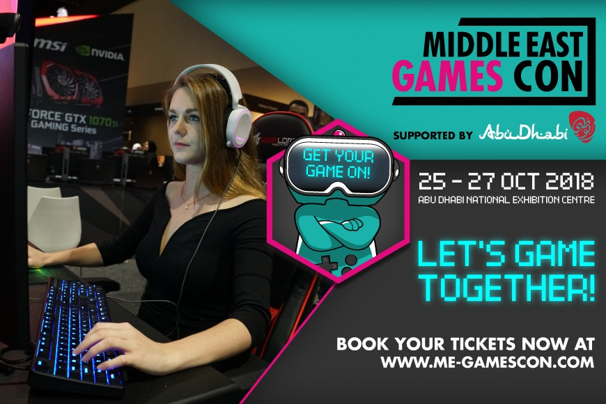 Don't miss Games Con | 25-27 October 2018