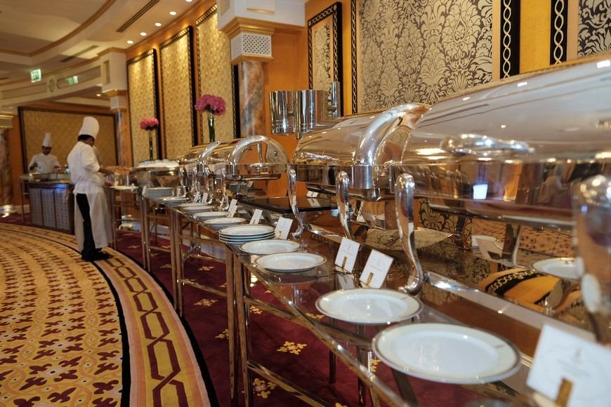 Burj Al Arab Breakfast 2019