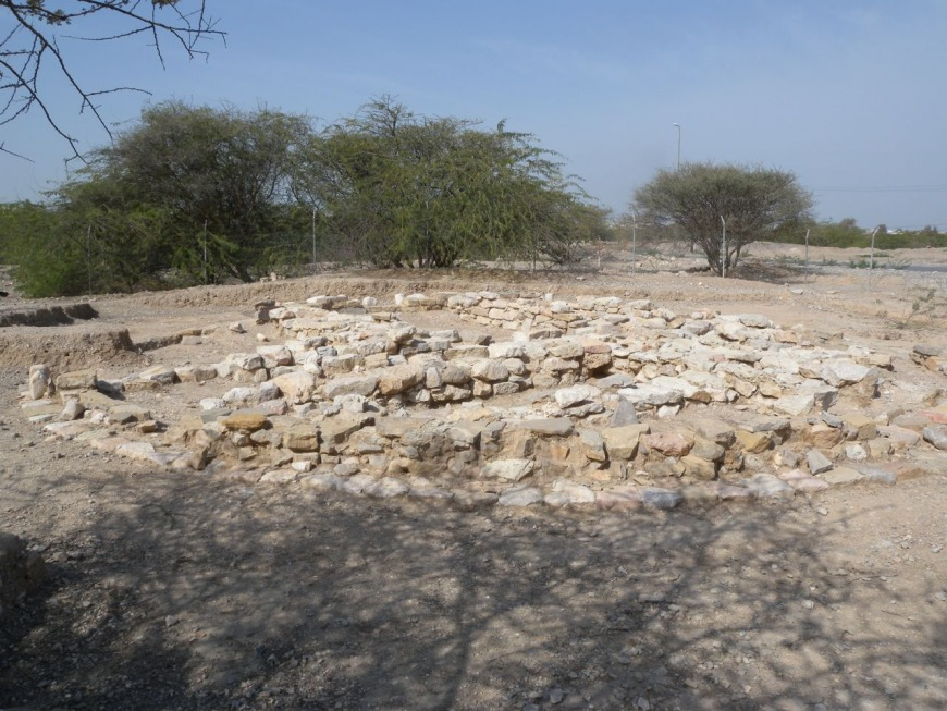 Ancient burial site