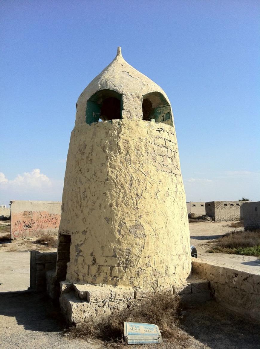 Old mosque in Al Jazeera abandoned village