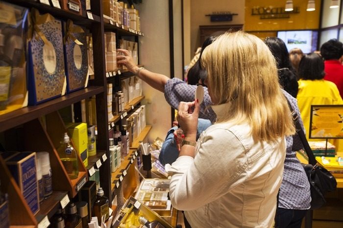Were you ex-papped at the L'Occitane event?
