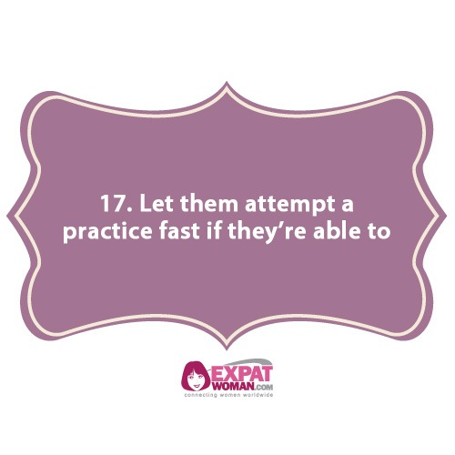 17. Let them attempt to practice fast if they're able to