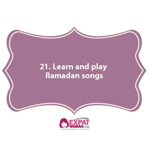 21. Learn and play Ramadan songs