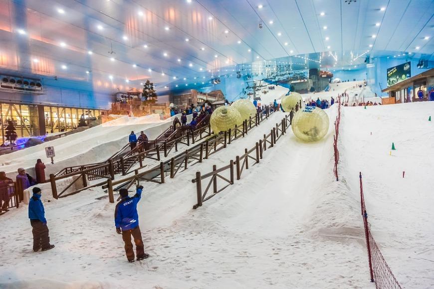 2. Go to Ski Dubai
