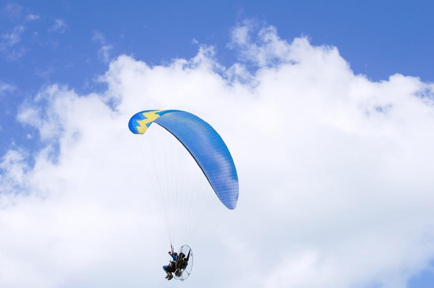 3. Go sky diving