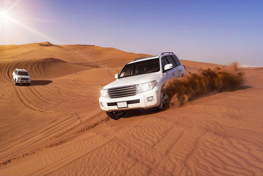 4. Go on a desert safari