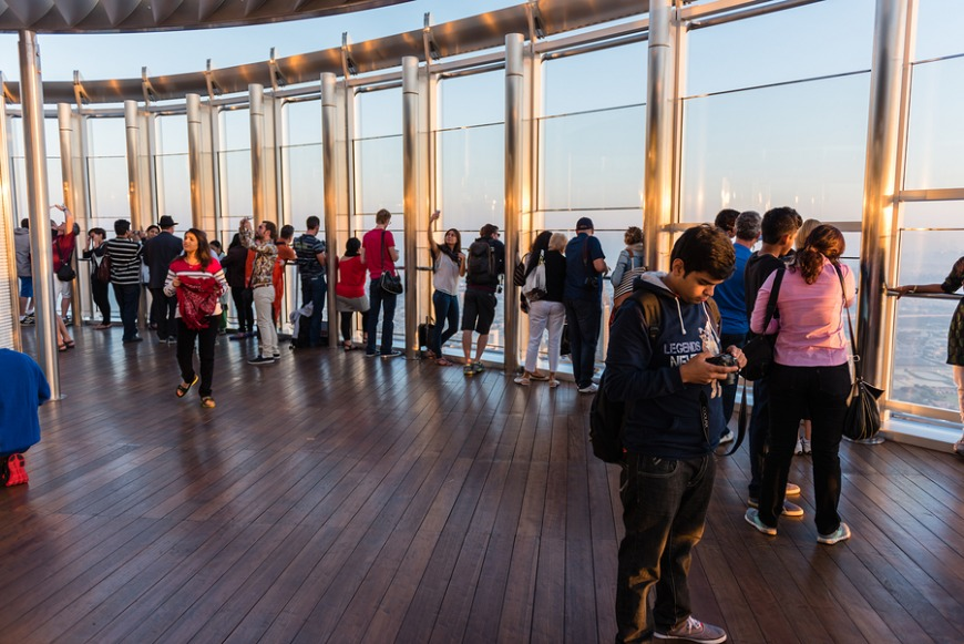 5. Go to the Observation deck