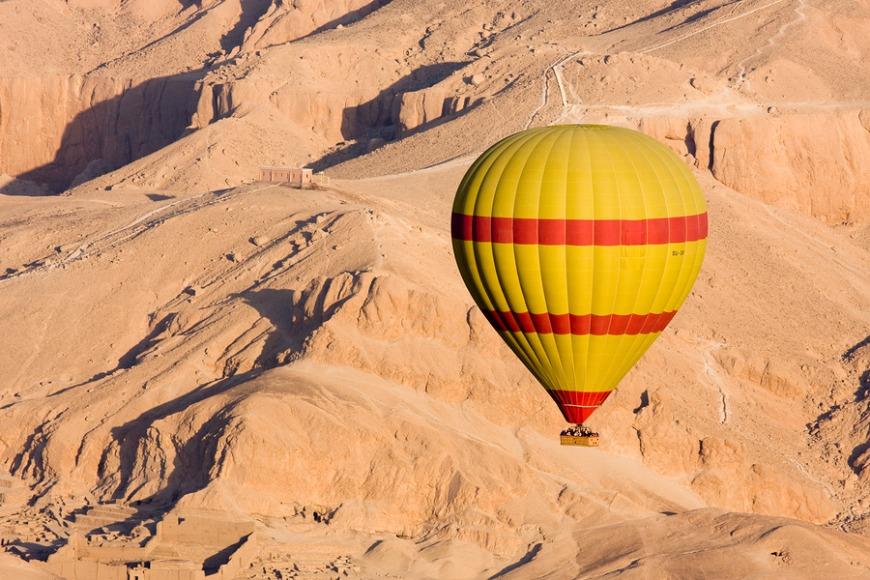 6. Go in a hot air balloon