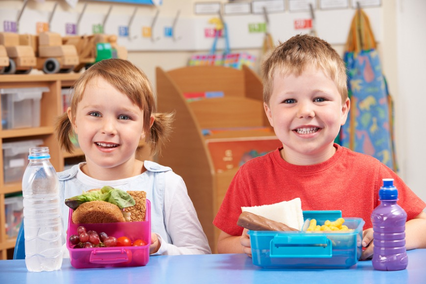 Make sure your child has a good nutritious meal for lunch. This will help them focus throughout the day and give them the energy they need