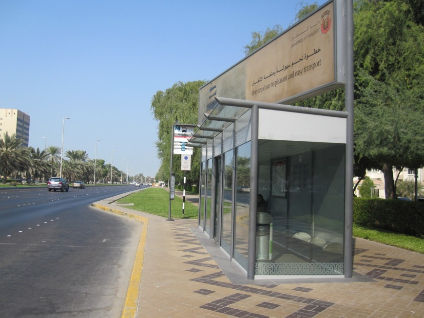 There are lots of local service buses operatin in Abu Dhabi and outer suburbs residents and tourists can use