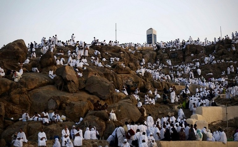 Arafat Day falls on the 9th day of Dhu Al Hijja, which is a sacred month in Islam