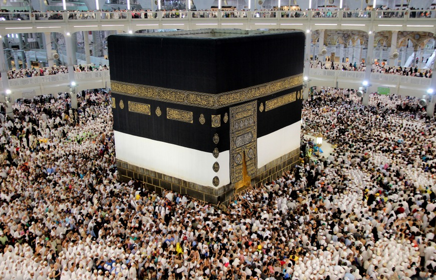 During the 12th month of the Islamic calendar, the pilgrimage of Hajj takes place