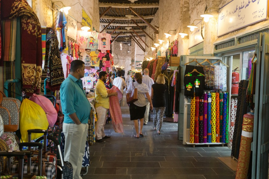 There is a big variety of shopping options, both traditional and modern