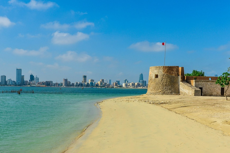 Arad Fort Beach | Photo: culture.gov.bh