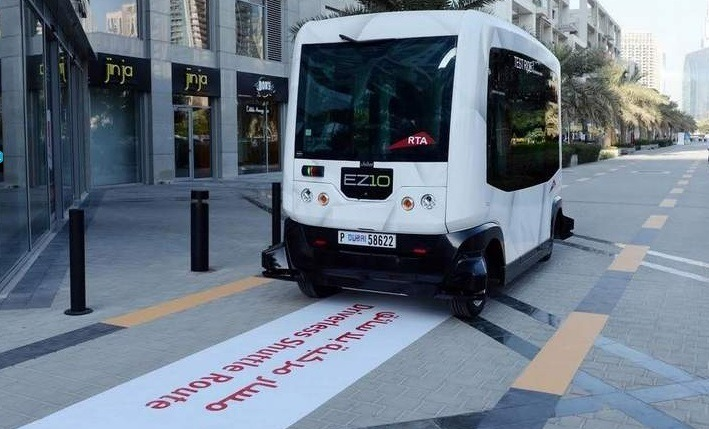 Driverless vehicles in Dubai