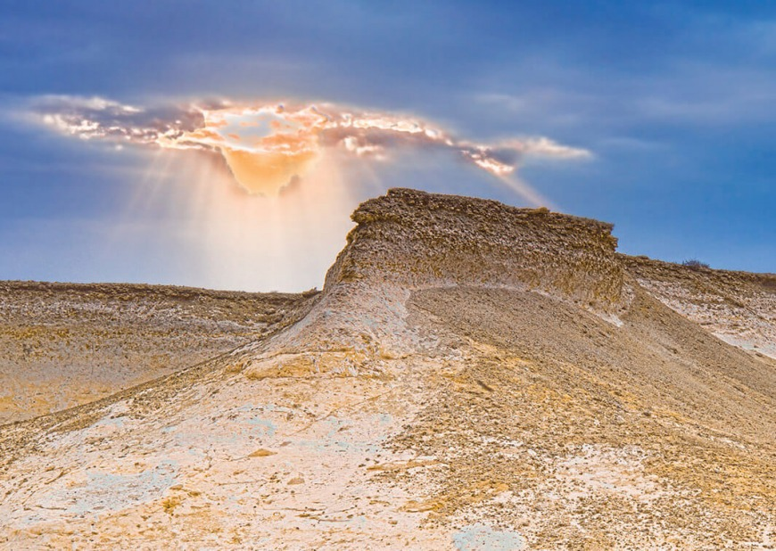 Ras Abrouq Rock Formations | Photo: visitqatar.qa