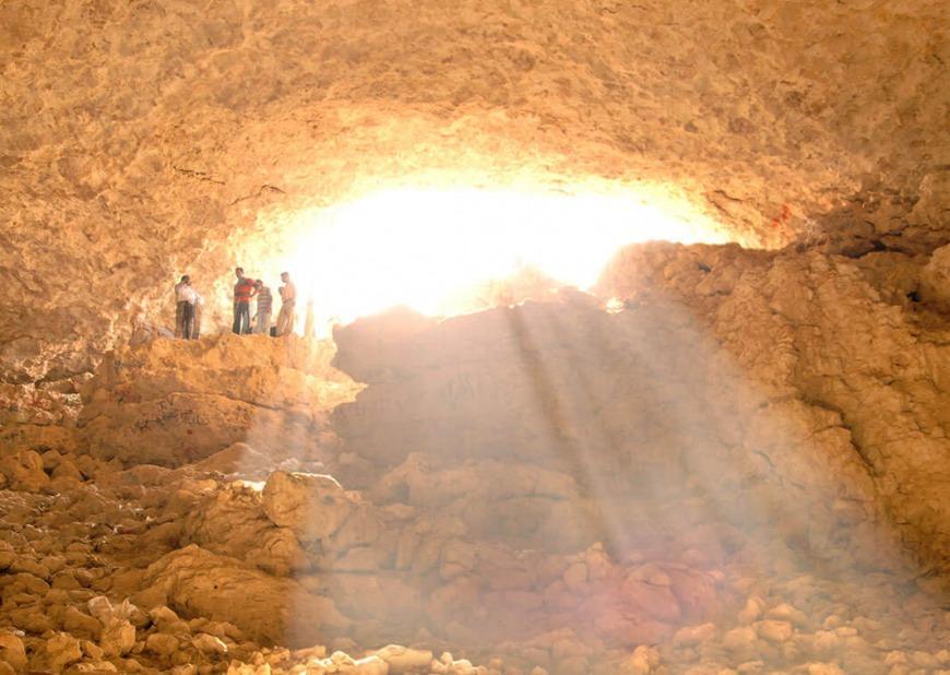Dahl Al Misfir Cave | Photo: visitqatar.qa