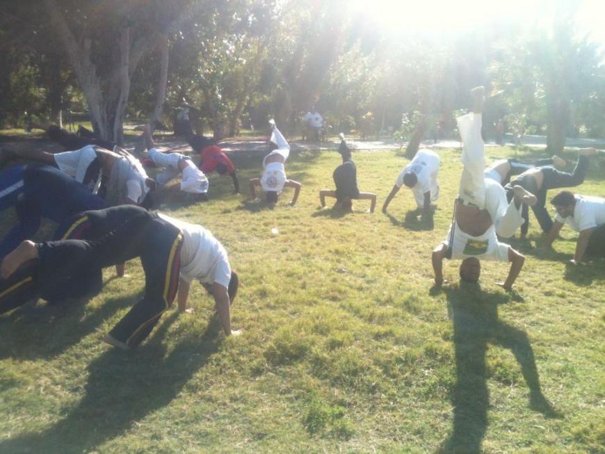 Capoeira | Photo: FB @CapoeiraBahrain