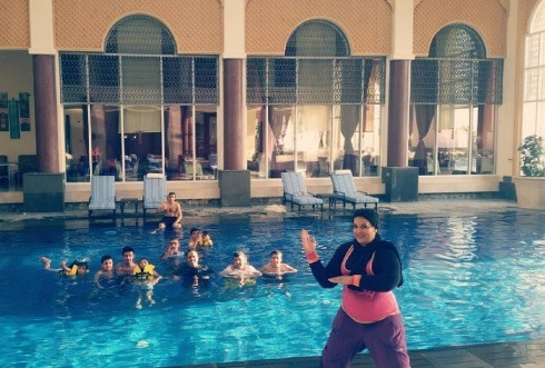 Aqua Zumba | Photo: IG @zumba_bh