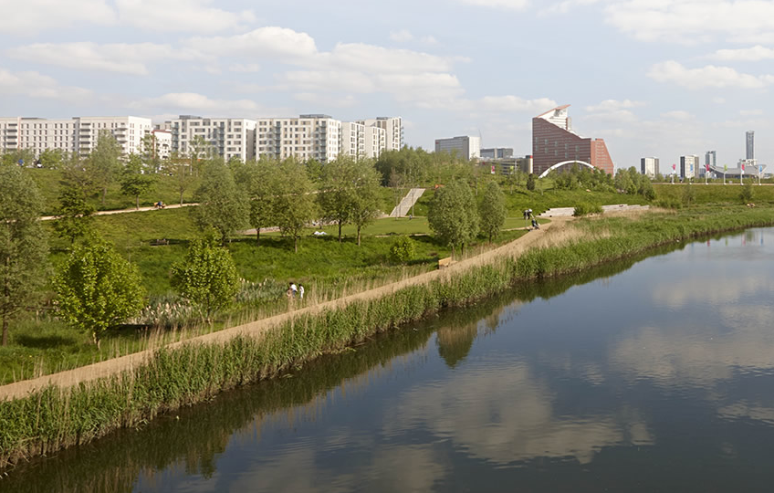 London Olympic Village | Photo: getlivinglondon.com