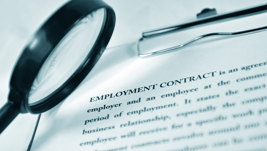 Potential expats must see a copy of their employment contract while still in their home country.