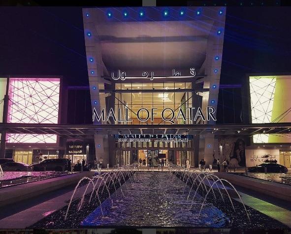 Mall of Qatar entrance.   Photo: IG @fidimovski