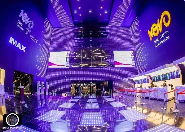 Mall of Qatar Novo cinema   Photo: IG @ qatar_and_yonder